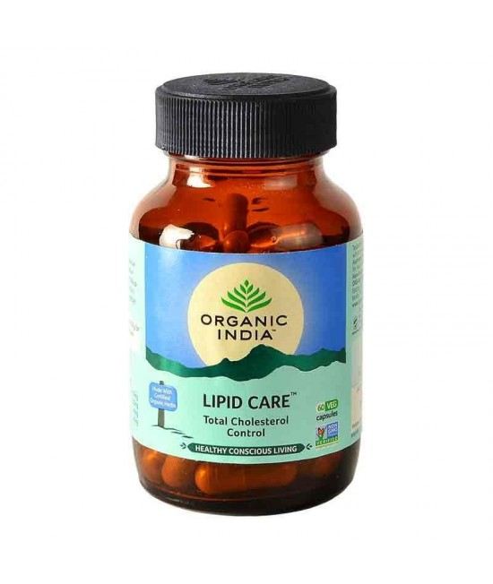 Lipidcare 60 Capsules Bottle