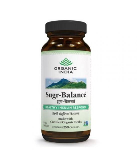 Sugr Balance 250 Capsules Bottle