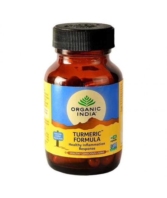 Turmeric Formula 60 Capsules Bottle