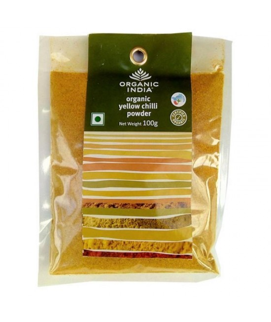 Organic Yellow Chilli Powder 100g