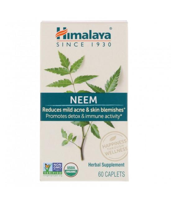 Himalaya, Neem, 60 Caplets