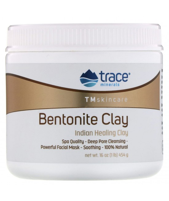 Trace Minerals Research, Bentonite Clay, Indian Healing Clay, 16 oz (454 g)